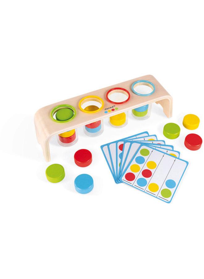 Janod | essential | kleuren sorteren