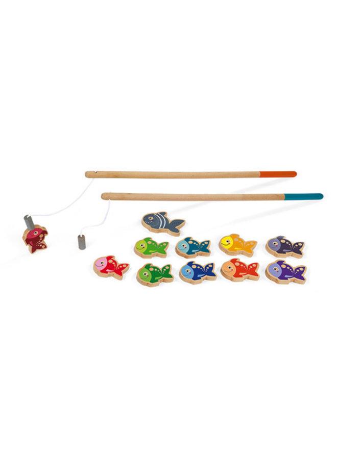 Janod | spel | visspel laten we gaan vissen