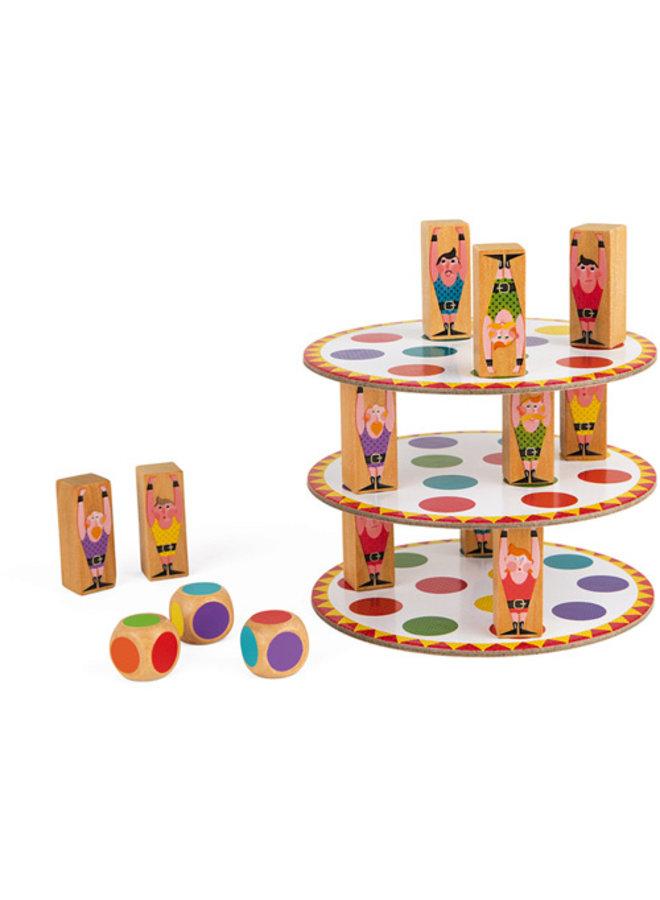Janod | spel | acrobaten toren