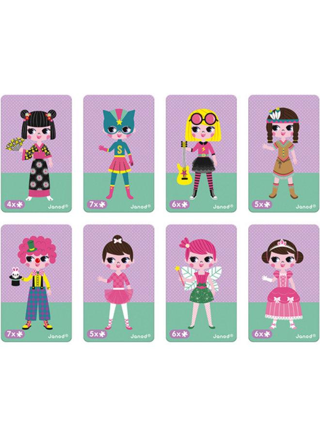 Janod | magnetibook | verkleedfeest meisjes