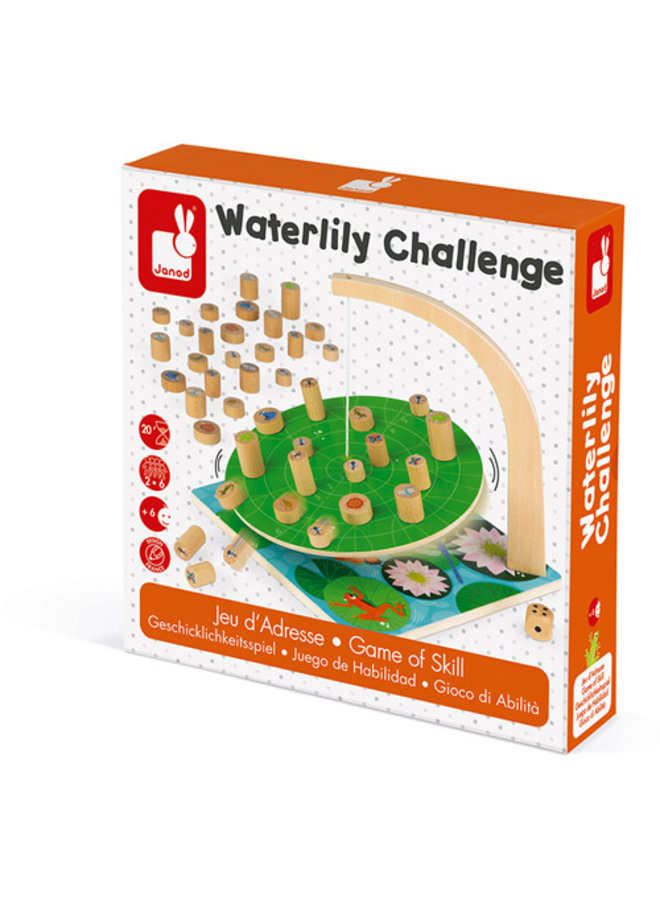 Janod   spel   waterlelie challenge
