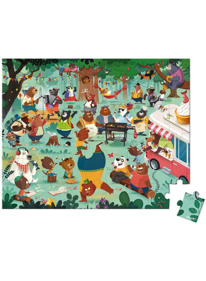 Janod | puzzel | de berenfamilie
