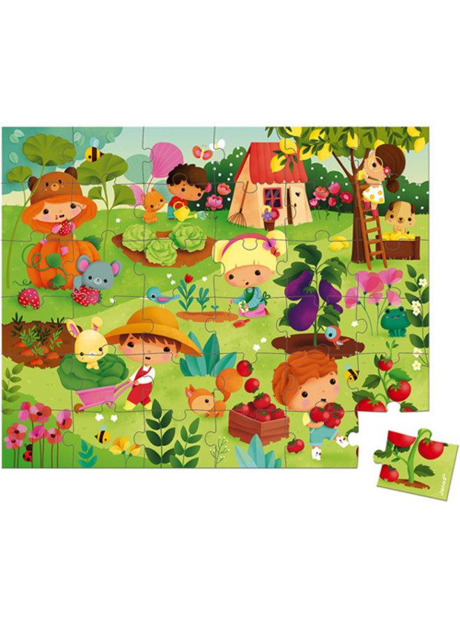 Janod | puzzel | tuin