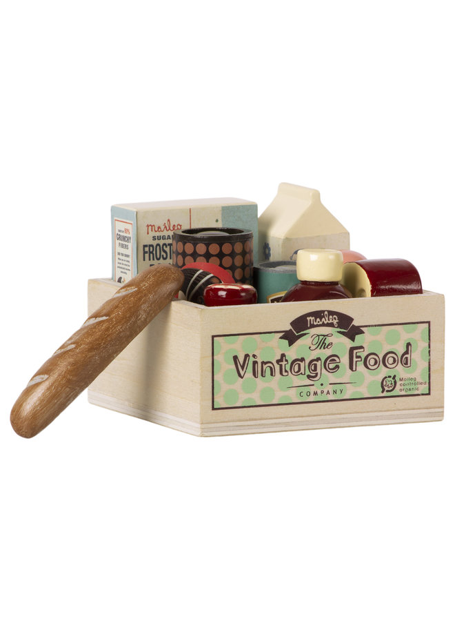 Maileg | vintage food | grocery box