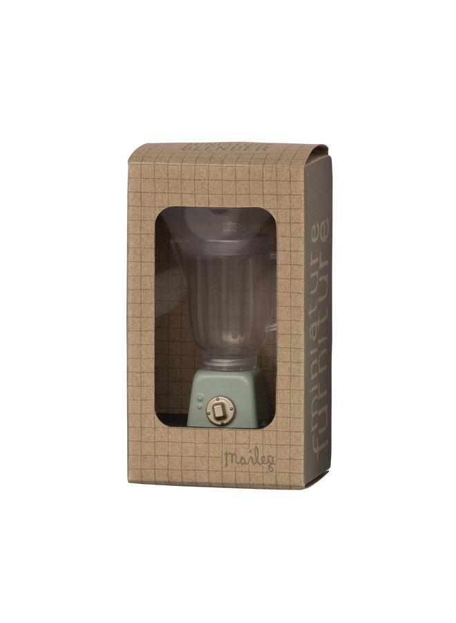 Maileg | miniature blender | mint
