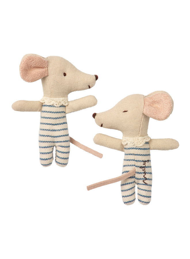 Maileg | baby mouse sleepy/wakey in box | boy