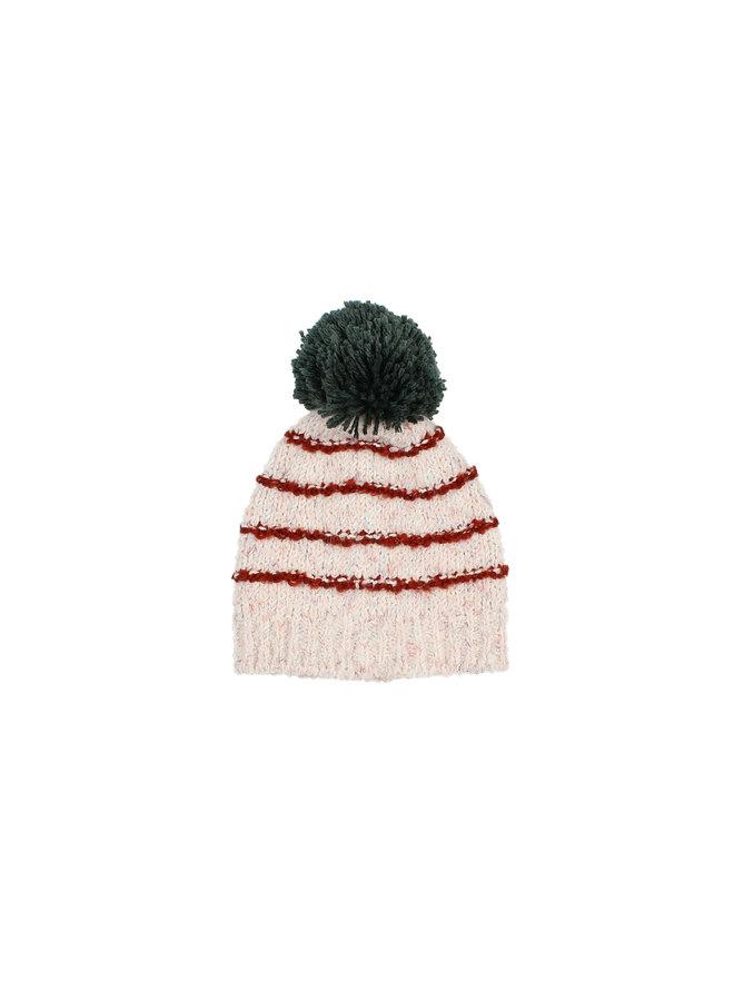 Buho | tibet kids knit hat | stripes