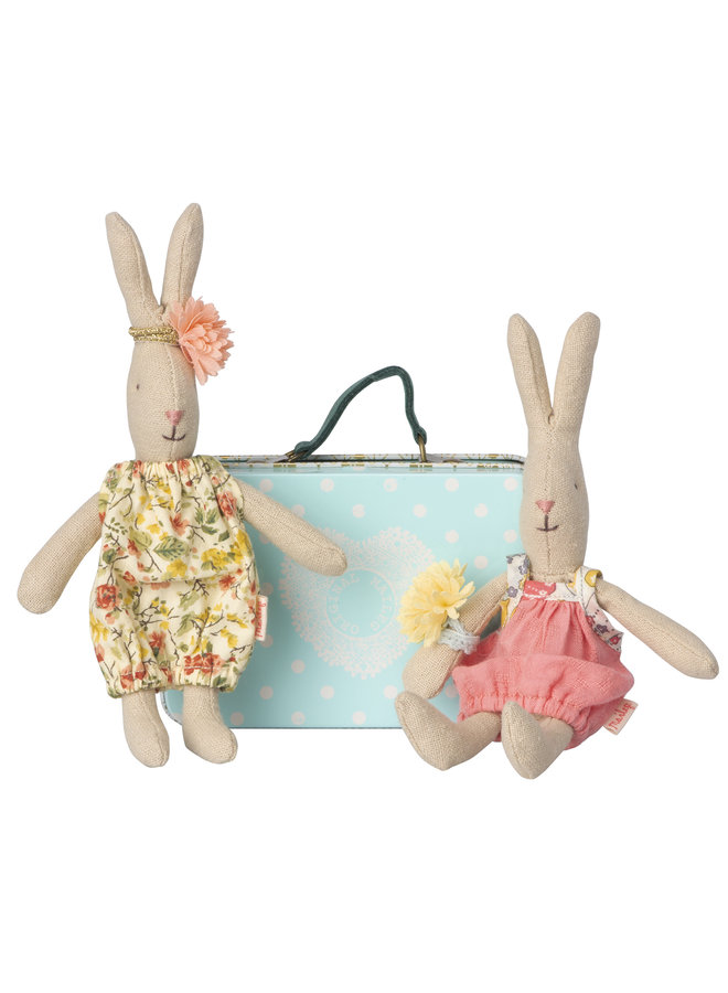 Maileg | micro rabbit with 2 sets of clothes