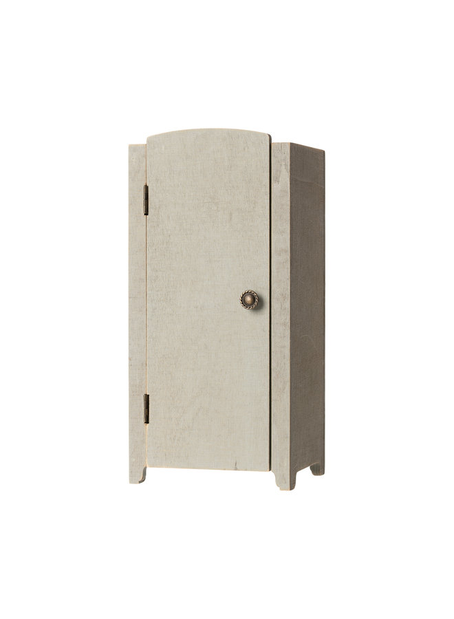 Maileg | vintage closet with shelves | mini | mint/grey