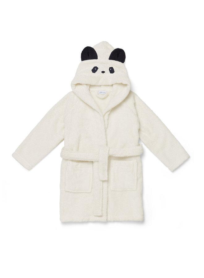 Liewood   lily bathrobe   panda creme de la creme