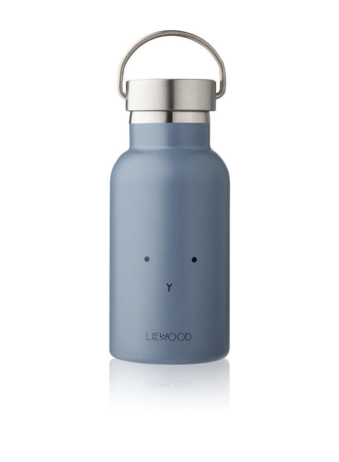 Liewood | anker water bottle | rabbit blue wave