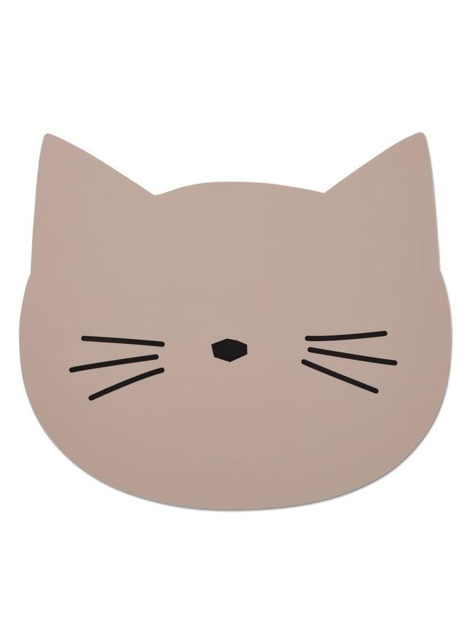 Liewood   aura placemat   cat rose