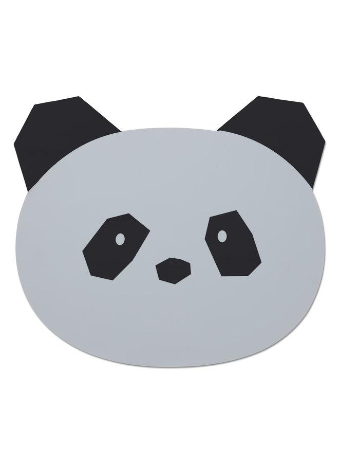 Liewood | aura placemat | panda dumbo grey