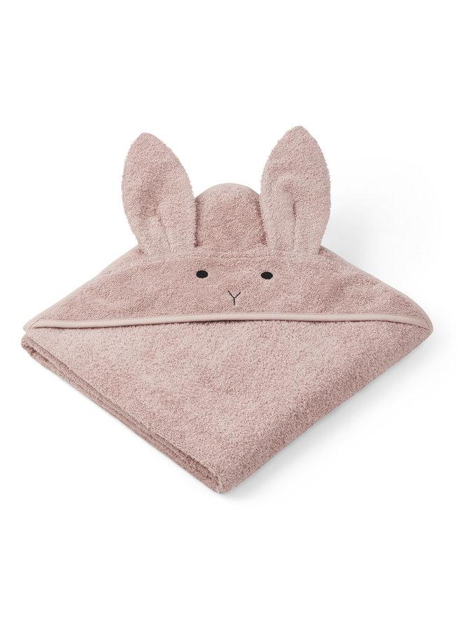 Liewood | augusta hooded towel | rabbit rose