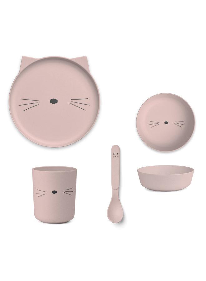 Liewood | bamboo box set | cat rose