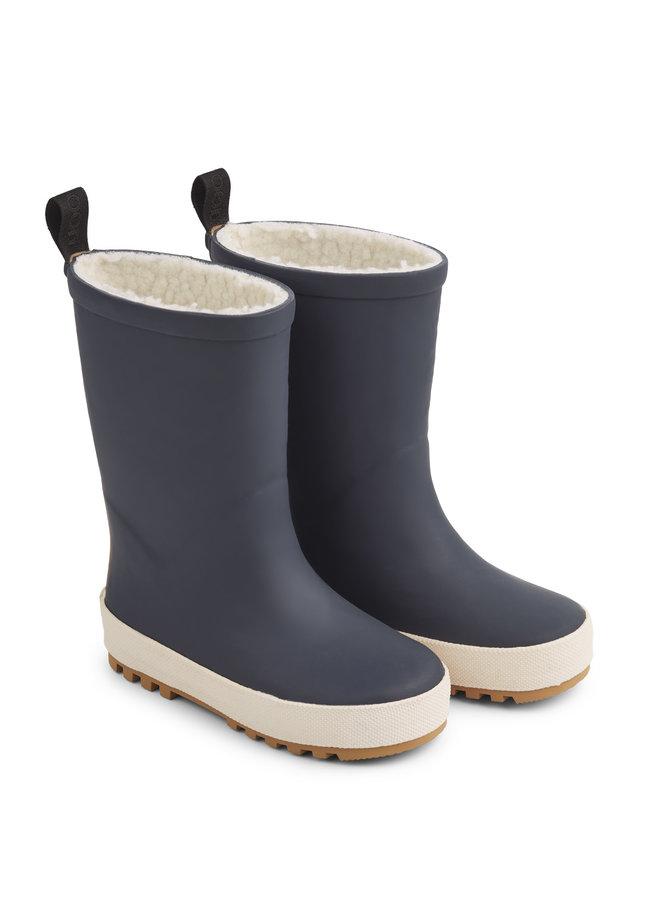 Liewood | mason thermo rain boot | navy