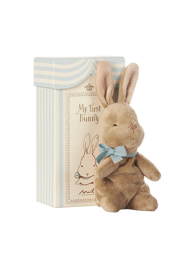 Maileg | my first bunny in box | blue