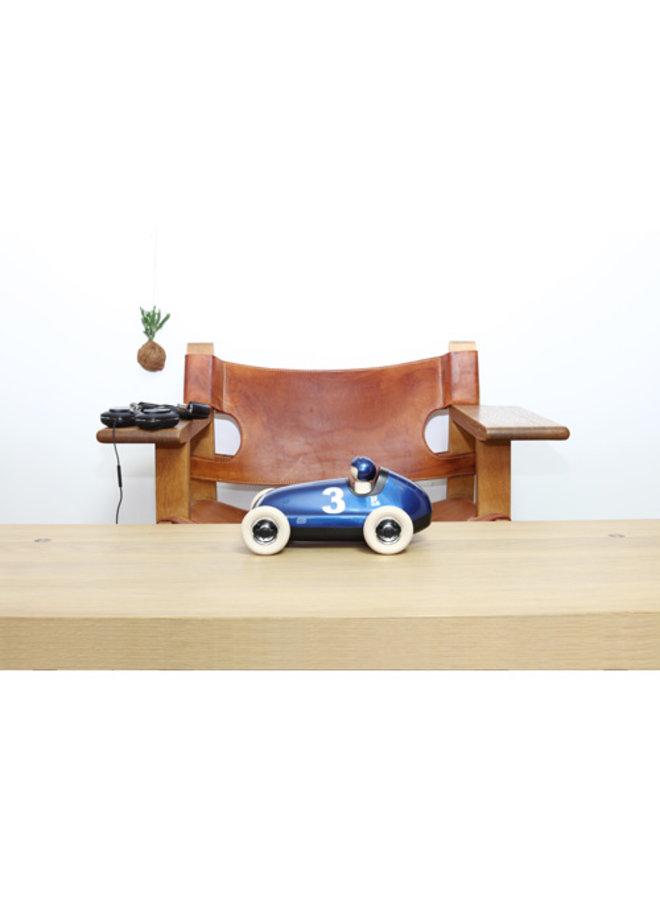 Playforever | bruno racing car metallic blue