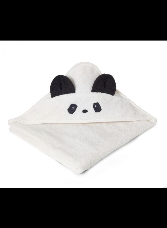 Liewood | augusta hooded towel | panda creme de la creme