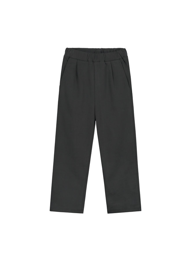 Gray Label | relaxed pleated trousers | nearly black