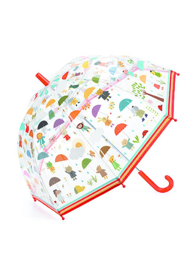 Djeco | paraplu | under the rain