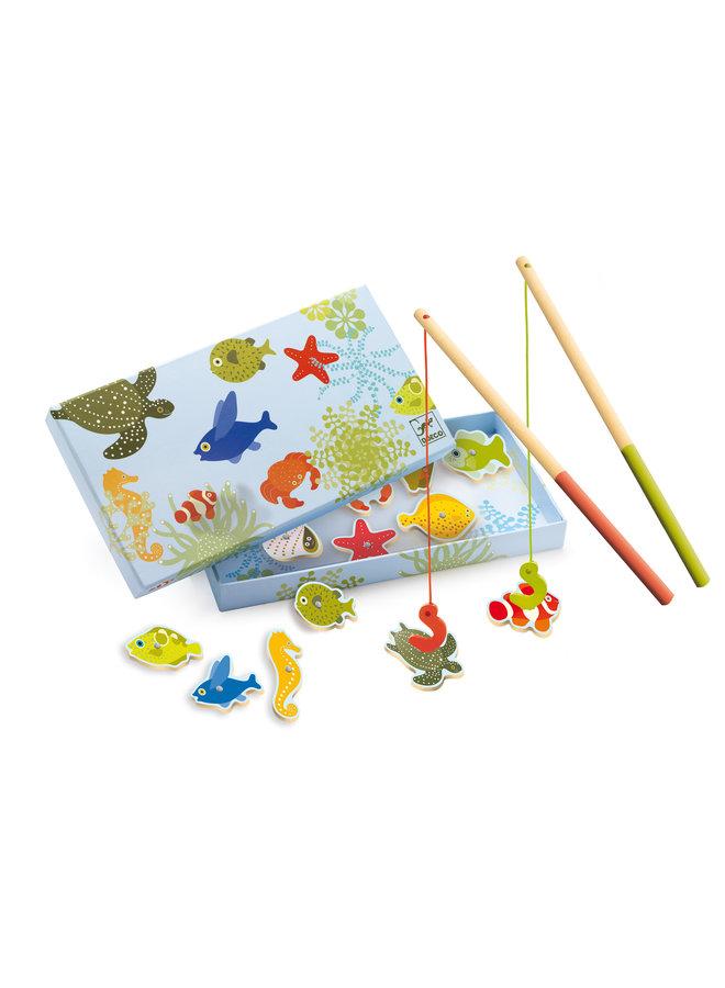 Djeco | magnetisch visspel | fishing tropic