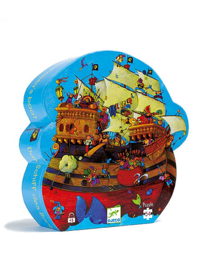 Djeco | puzzel | barbarossa his boat | 54 stukjes