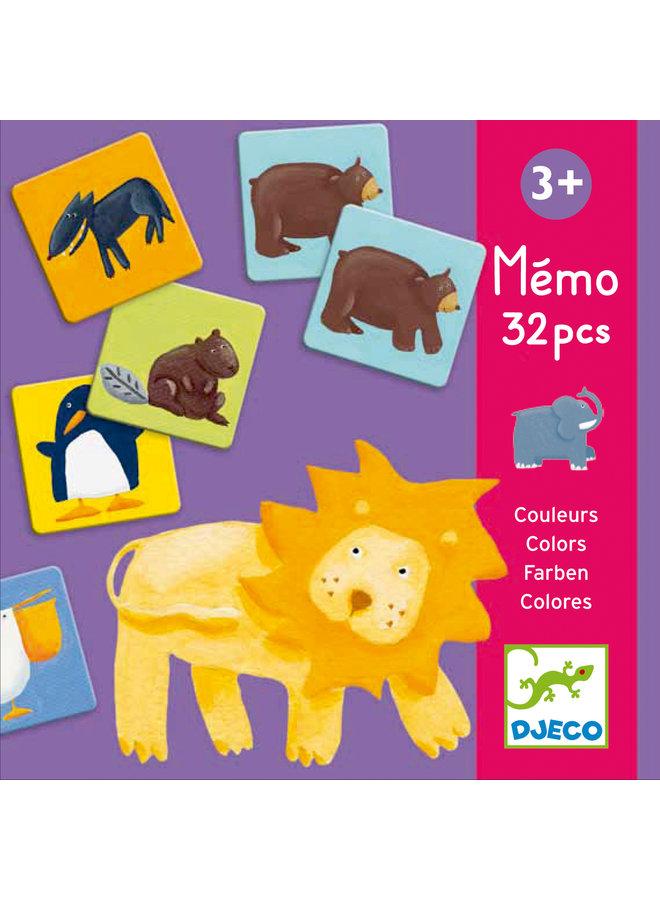 Djeco   memory   colour animals