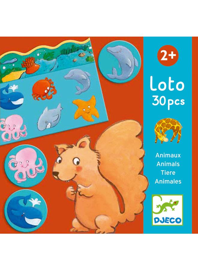 Djeco | lottospel | animals