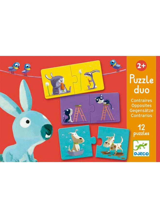Djeco | duo puzzel | opposites