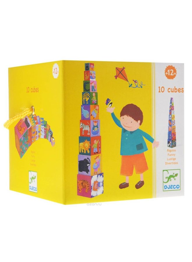Djeco | stapelblokken | rigolo