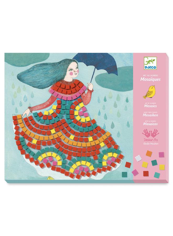 Djeco | mozaiek setjes | party dresses