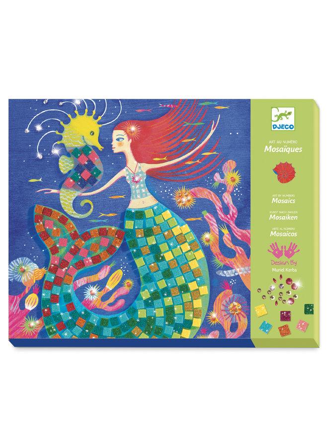 Djeco | mozaiek setjes | the mermaids song