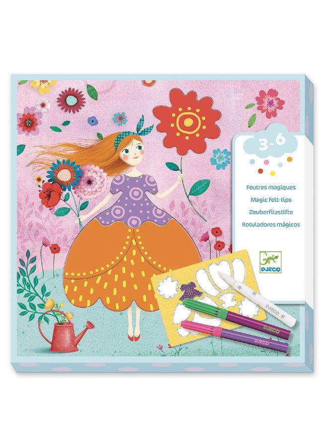 Djeco | magisch kleuren | marie pretty dresses
