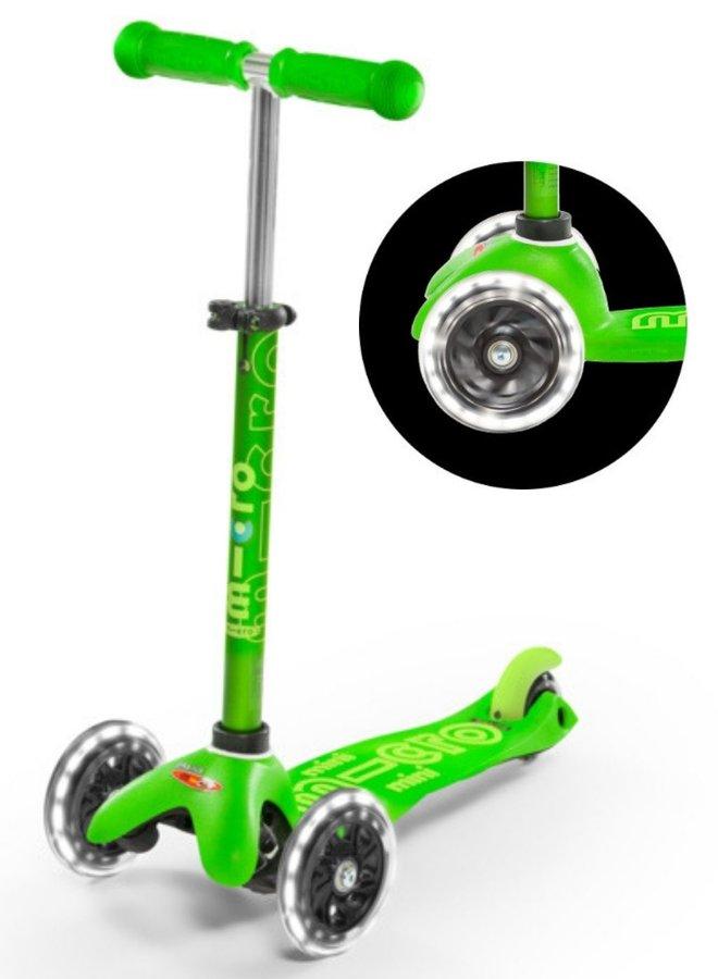 Micro | mini step deluxe | groen | led