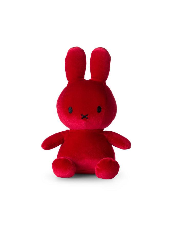 Nijntje | velvet candy rood | 23 cm