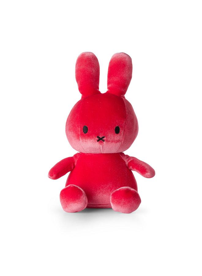 Nijntje | velvet candy roze | 23 cm