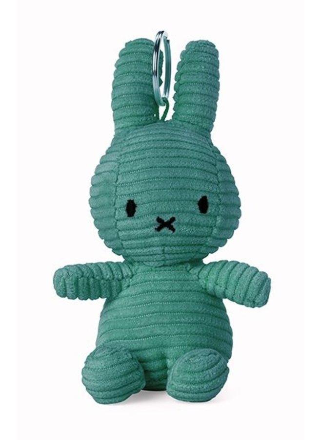 Nijntje | sleutelhanger | corduroy groen | 10 cm
