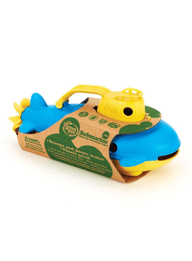 Green Toys | duikboot | geel handvat