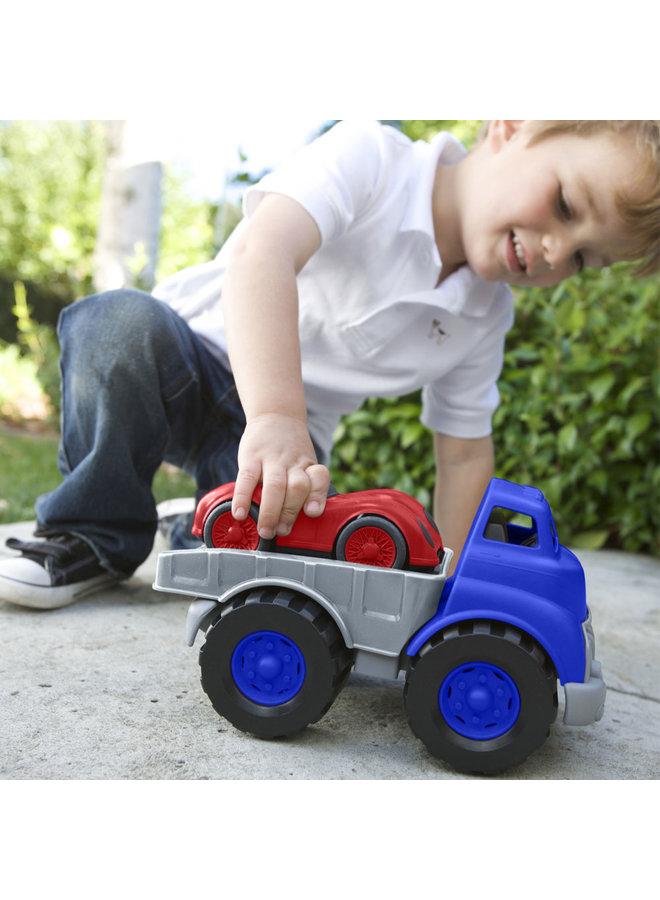 Green Toys | vrachtwagen met raceauto