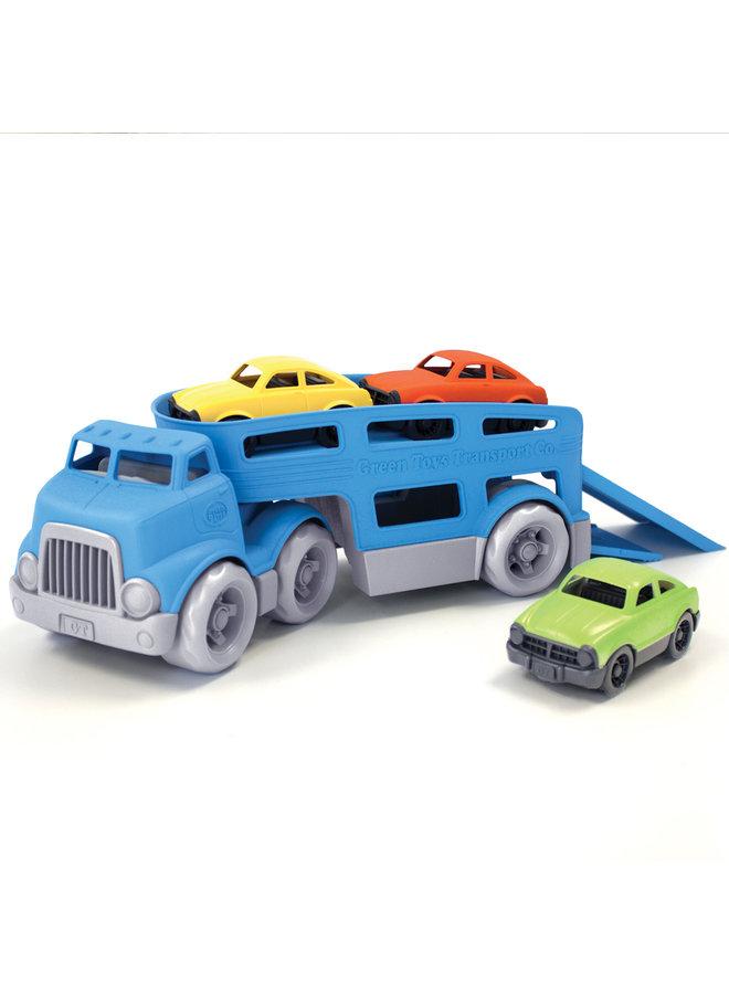 Green Toys   vrachtwagen met oplegger