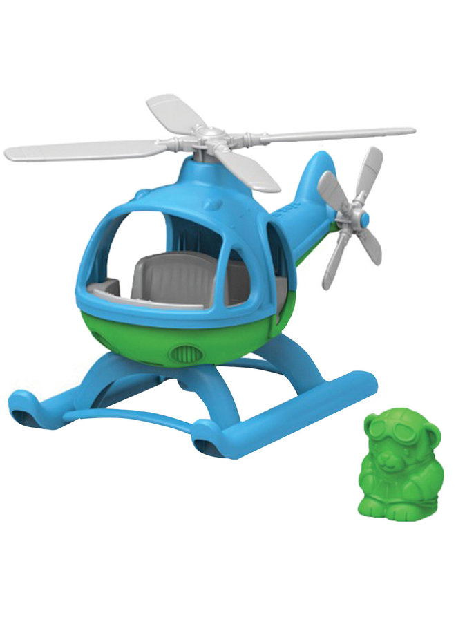 Green Toys | helikopter | blauw