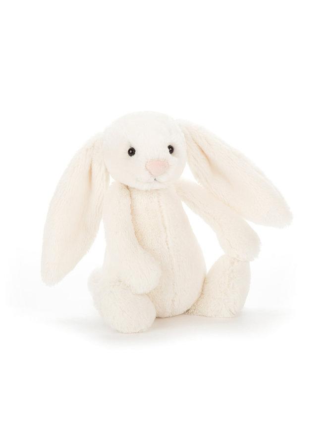 Jellycat   bashful creme konijn small