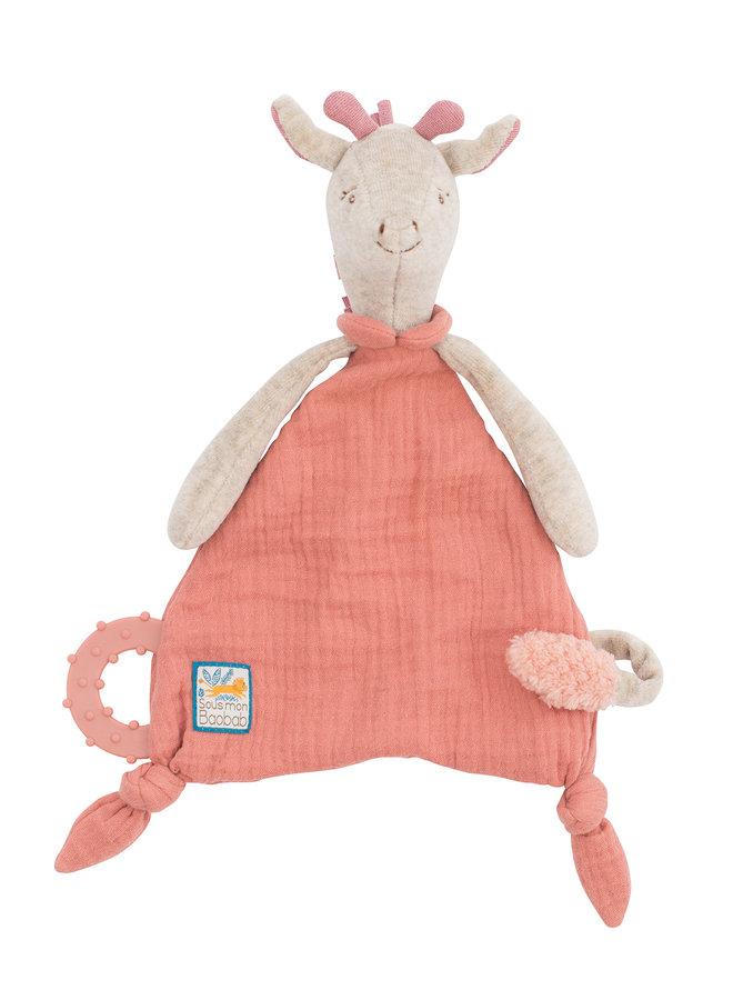Moulin Roty | knuffel fopspeen | giraf