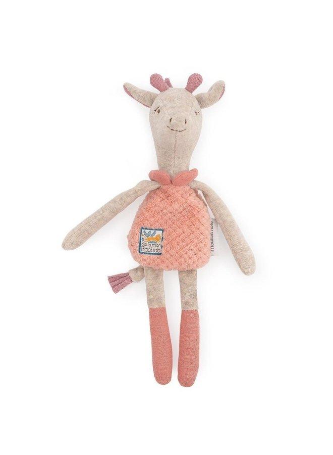 Moulin Roty | knuffeldoek rammelaar | giraf