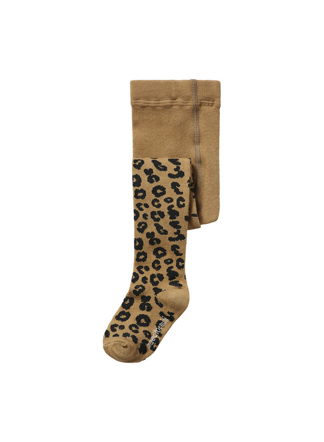 Maed for mini   brown leopard aop   tights