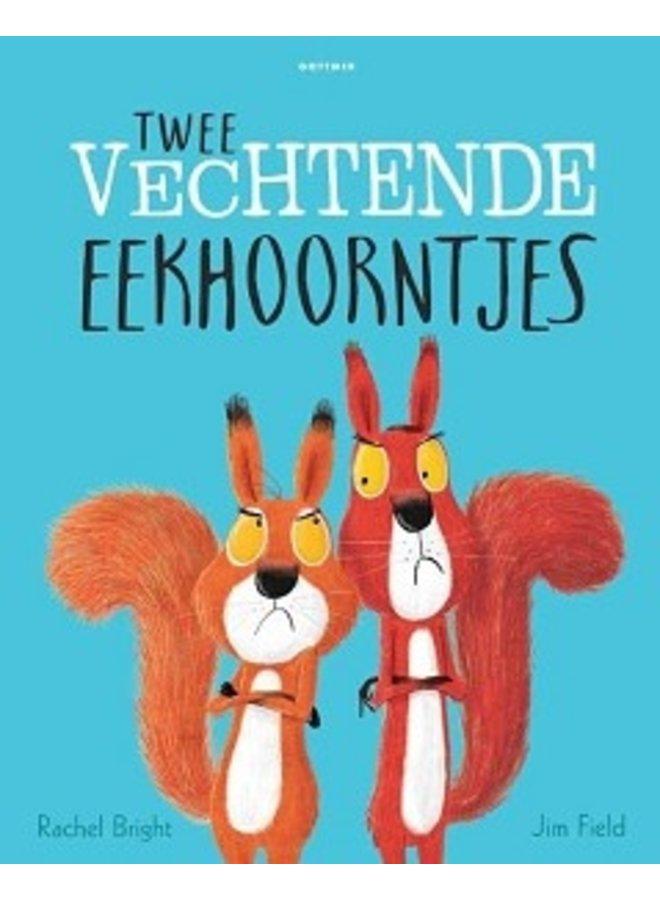 Boeken | twee vechtende eekhoorntjes | 3+
