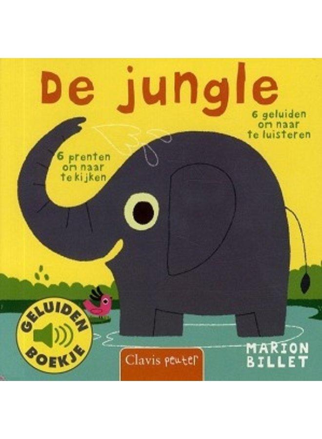 Boeken   de jungle   geluidenboekje   1+