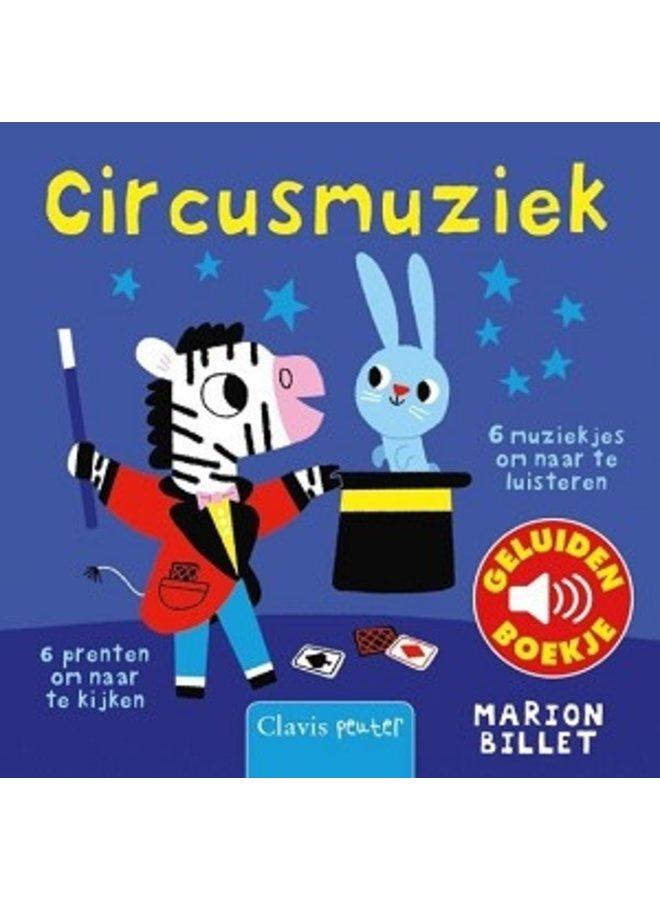Boeken | circusmuziek | geluidenboekje | 1+