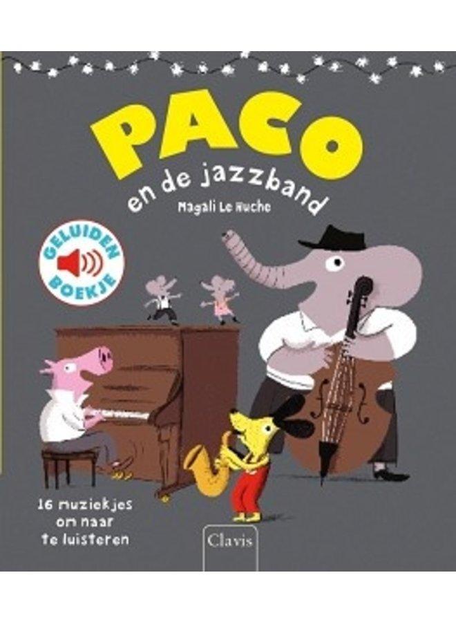 Boeken | paco en de jazzband | geluidenboek | 3+